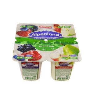 Альпенланд Лес.ягода/ябл груша 0,3% 380г(95гх4) х6