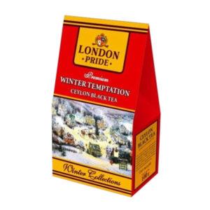 Чай Лондон Прайд Зимняя Коллекция черный 100г в ассорт.