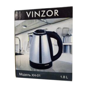 Чайник электрический XH 01 VINZOR металл