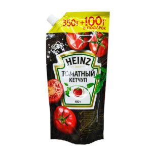 Хайнц кетчуп томатный 450 гр д/п
