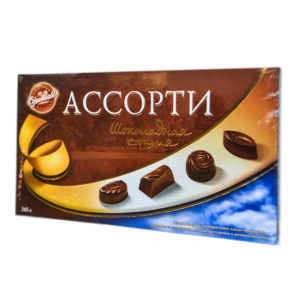 Конфеты Ассорти Шоколадная стихия 245гр
