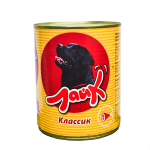"""Корм """"Лайк"""" консервы для собак 850 г Классик говядина и печень"""