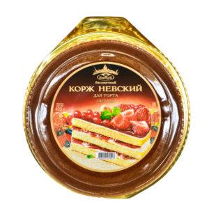Корж Невский бискв.д/торта св.400г