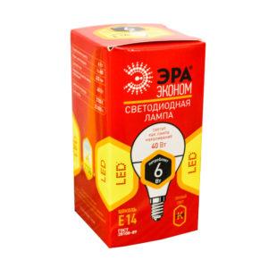 Лампа светодиодная ЭРА А60 16Вт Е27 230v
