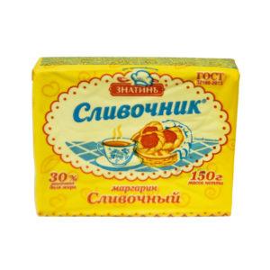 """Маргарин """"Сливочный"""" ТМ Сливочник 30% 150гр"""
