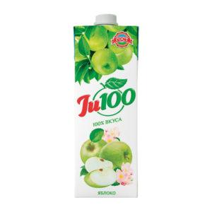 """Нектар """"Яблочный"""" осв. """"Ju100″/ 1л"""