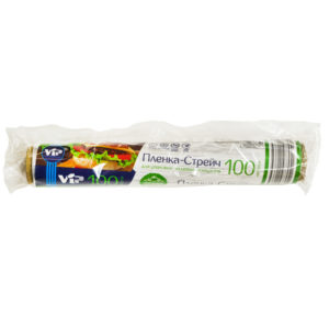 Пленка пищевая белая 6 мкм 30см*100м (ИнтроПластика)