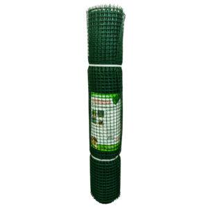 Садовая сетка квадратная 15х15 (1,0х10) Зеленый луг БЮДЖЕТ