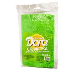 Салфетка из микрофибры Dora для пола Эконом, 50х60 см