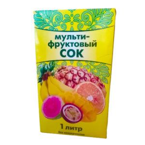 Сок мультифруктовый 1л ТБА