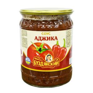 """Соус """"Аджика кавказская"""" 500 г Твист (Высокая банка)"""