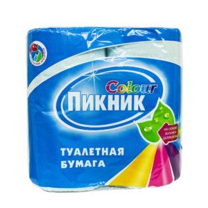 Туалетная бумага 4рул 2х сл с тиснением и перфор.