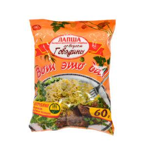 """Вермишель со вкусом говядины, б/п """"Вот это да!"""" 60 гр"""