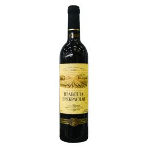 Вино столовое Изабелла прекрасная п/сл. красное 9 11% 0,7л