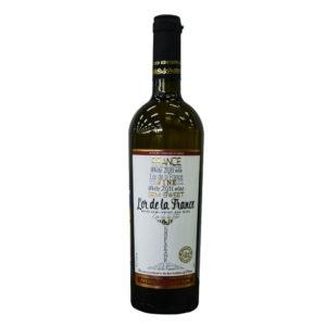 """Вино защ. геогр. наим. """"L'or de la France""""(Золото Франции) бел. п\сл. 0,75 л. 10,5 11,5%"""
