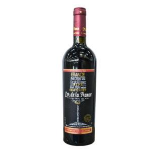 """Вино защ. геогр. наим. """"L'or de la France""""(Золото Франции) крас. п\сл. 0,75 л. 10,5 11,5%"""