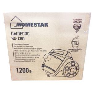 Пылесос Homestar HS 1301, 1200Вт