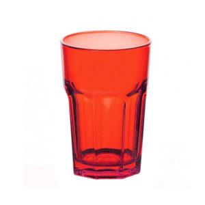 Стакан 355 мл цветное стекло (5 цветов)