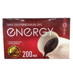 Турка электрическая Energy EN 289S (1000Вт, 200 мл)