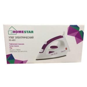 Утюг HOMESTAR HS 4001 (2000Вт, пар,)